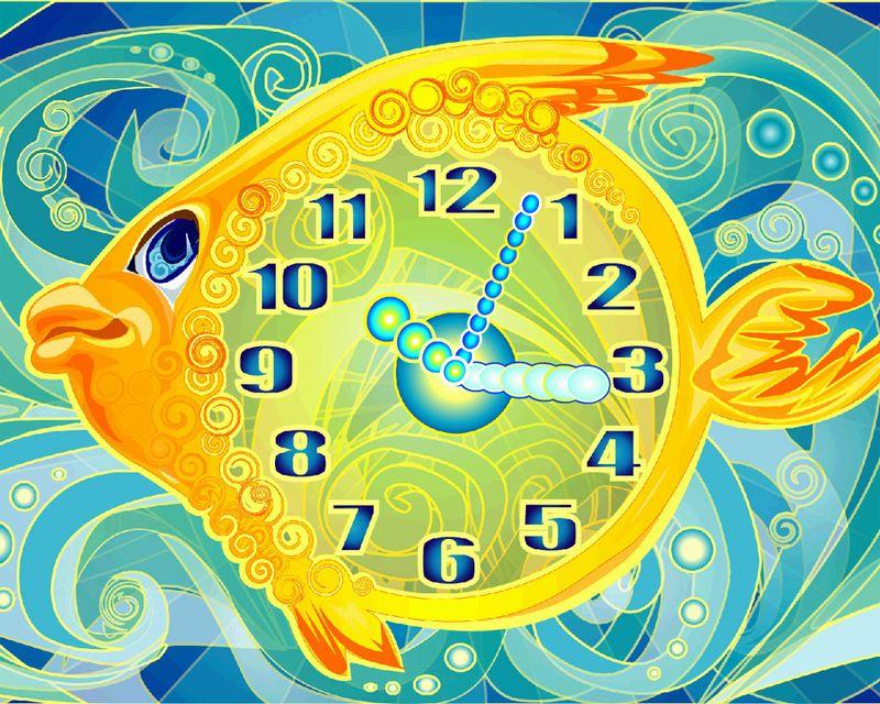 Fish-clock