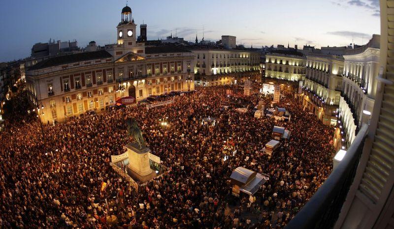 Huelga Madrid