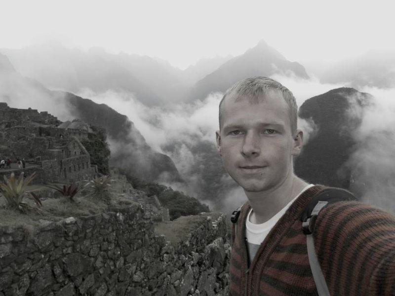 Dan in Machu Picchu