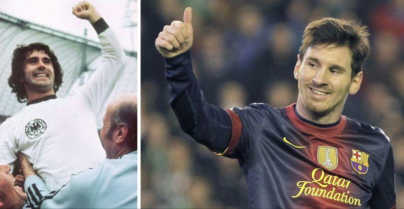 Messi y Müller